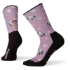 Smartwool Women's Hike Light Under The Stars Printed Crew Sock - Medium - Lavender