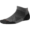 Smartwool PhD Run Light Elite Low Cut Sock - XL - Graphite