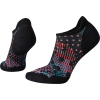 Smartwool Women's PhD Run Light Elite Dot Printed Micro Sock - Medium - Black