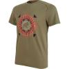 Mammut Men's Trovat T-Shirt - Large - Olive Prt1