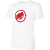 Mammut Men's Mammut Logo T-Shirt - Small - Bright White Prt1