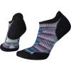 Smartwool Women's PhD Run Light Elite Chevron Printed Micro Sock - Small - Wave Blue