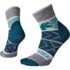 Smartwool Women's Floral Dot Mini Boot Sock - Large - Deep Marlin