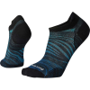 Smartwool Men's Run Ultra Light Wave Printed Micro Sock - XL - Alpine Blue