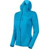 Mammut Women's Aconcagua Light ML Hooded Jacket - XL - Ocean