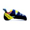Evolv Women's Shakra Climbing Shoe - 8 - Aqua / Neon Yellow