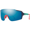 Smith Flywheel ChromaPop Sunglasses - One Size - Matte Deep Ink/Chromapop Opal Mirror