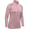 Under Armour Women's UA Tech Twist 1/2 Zip Top - Medium - Hushed Pink / Metallic Silver