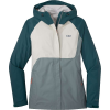 Outdoor Research Women's Apollo Jacket - Large - Mediterranean / Lead / Sand