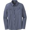 Outdoor Research Men's Wayward LS Shirt - XXL - Steel Blue