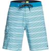 Quiksilver Men's Angler Stripe 20 Beachshort - 34 - Still Water