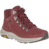 Merrell Women's Ontario Mid Waterproof Shoe - 8.5 - Raisin