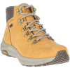 Merrell Women's Ontario Mid Waterproof Shoe - 8 - Gold