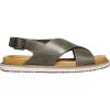 Keen Women's Lana Cross Strap Sandal - 8.5 - Dusty Olive / Silver Birch
