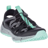 Merrell Women's Hydrotrekker Synthetic Shandal - 8 - Black / Mint
