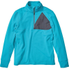 Marmot Men's Hanging Rock Half Zip Top - Small - Enamel Blue / Steel Onyx