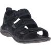 Merrell Women's Siren 2 Strap Sandal - 8 - Black