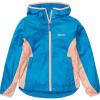 Marmot Girls' Trail Wind Hoody - Small - Classic Blue / Pink Lemonade