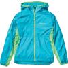 Marmot Boys' Trail Wind Hoody - Large - Enamel Blue / Emerald