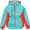 Marmot Girls' Trail Wind Hoody - Small - Ceramic Blue / Victory Red