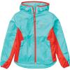 Marmot Girls' Trail Wind Hoody - Medium - Ceramic Blue / Victory Red