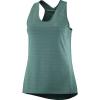 Salomon Women's XA Tank - Large - Balsam Green/Heather