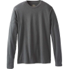 Prana Men's Prana LS Crew- Standard Tall - Small Tall - Charcoal Heather