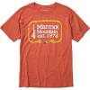 Marmot Men's Ascender SS Tee - Small - Picante Heather