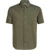 Icebreaker Men's Compass SS Shirt - XL - Cypress / Driftwood