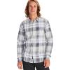 Marmot Men's Parkfield LS Shirt - Medium - Sleet