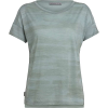Icebreaker Women's Via SS Scoop Neck Top - Large - Shale