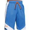 Under Armour Boys' Stunt 2.0 Short - Small - Water / Persimmon