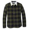 Smartwool Men's Anchor Line Sherpa Shirt Jacket - Medium - Olive