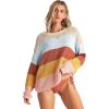 Billabong Women's Lost Paradise Sweater - Small - Multi
