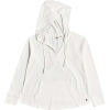 Roxy Women's Long Night Hooded Top - Small - Snow White