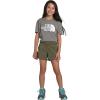 The North Face Girls' Aphrodite 3.5 Inch Short - Medium - Burnt Olive Green