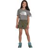 The North Face Girls' Aphrodite 3.5 Inch Short - Small - Burnt Olive Green