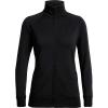 Icebreaker Women's Lydmar LS Zip Top - Medium - Black