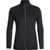 Icebreaker Women's Rush Windbreaker Jacket - Medium - Black
