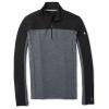 Smartwool Men's Merino Sport 250 LS 1/4 Zip Top - XXL - Black