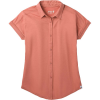 Smartwool Women's Everyday Exploration Button Down Top - XL - Rose Cloud