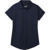 Smartwool Women's Everyday Exploration Button Down Top - XL - Deep Navy