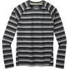 Smartwool Men's Merino 150 Baselayer LS Top - Large - Iron Stripe