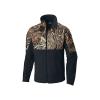 Columbia Men's PHG Fleece Overlay Jacket - Medium - Black / Rt Edge
