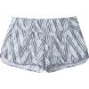 Smartwool Women's Merino Sport Lined Short - Large - Barely Blue Zig Zag Print