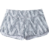 Smartwool Women's Merino Sport Lined Short - XL - Barely Blue Zig Zag Print