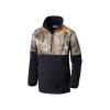 Columbia Youth Boys PHG Overlay Half Zip Fleece Top - XS - Black