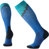 Smartwool PhD Pro Mountaineer Sock - Large - Bright Blue