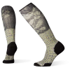 Smartwool Women's Compression Sightseeing Sunflower Printed Over The C - Small - Charcoal