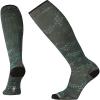 Smartwool Men's Compression Making Tracks Printed Over The Calf Sock - Medium - Charcoal